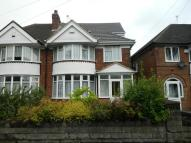 3 bedroom semi detached property to rent in Stechford Road...