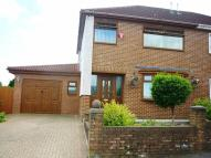 3 bedroom semi detached property in The Crescent, Aberdare