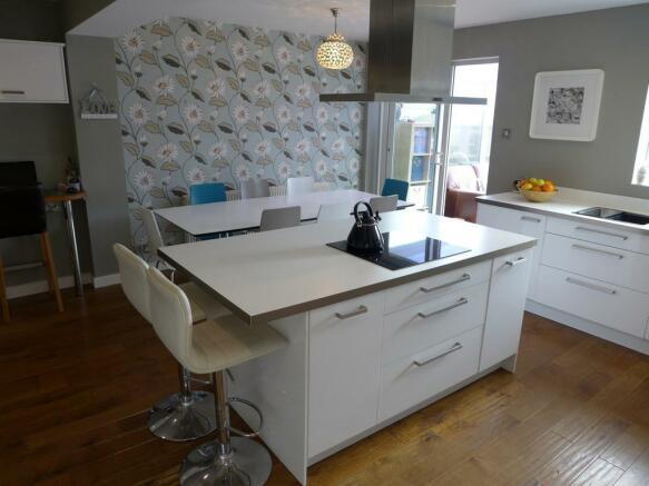 Open Plan Kitchen /