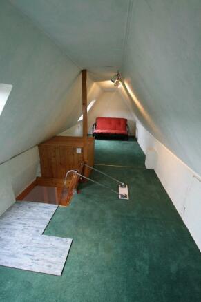 Bedroom 3/Loft space