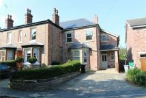 semi detached property to rent in Moss Lane, Alderley Edge...