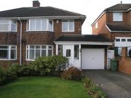 3 bed semi detached property in Lavinia Road, Lapal...