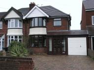 3 bed semi detached home for sale in HALESOWEN...