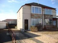semi detached house in Fitzalan Road, Renfrew