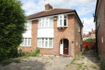 semi detached house to rent in Methuen Road, Edgware...