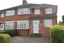 semi detached home to rent in FRANCKLYN GARDENS...