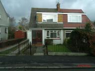 semi detached property in Rosslyn Road, Glasgow...