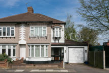 semi detached property in Boleyn Way, London