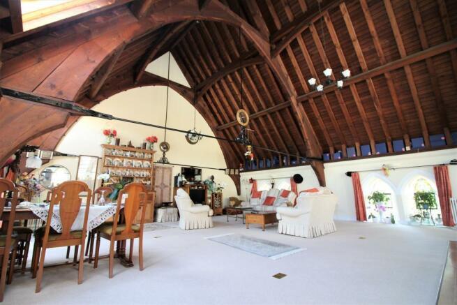 Opne Plan Living Area