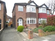 semi detached property in Lynmouth Avenue, London...