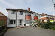 Woodstock Road semi detached property to rent