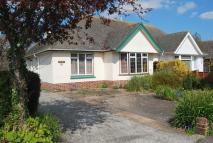 Semi-Detached Bungalow in Coulsdon Road, Sidmouth