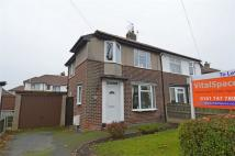 2 bedroom semi detached property in Snowden Avenue, Urmston...