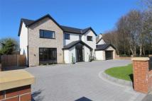 Detached house in Heyhouses Lane...