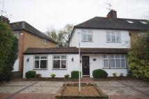 semi detached home in Swiss Avenue, CASSIOBURY...