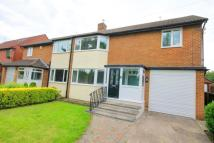 semi detached house in Park Road Central...