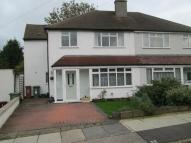 semi detached home in Northcote Road, Sidcup...