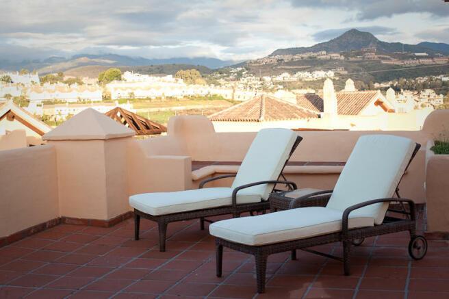 Terrace corner