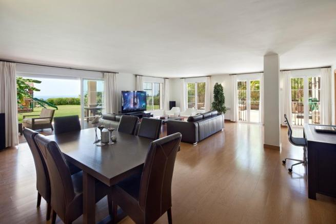 Lower apt lounge