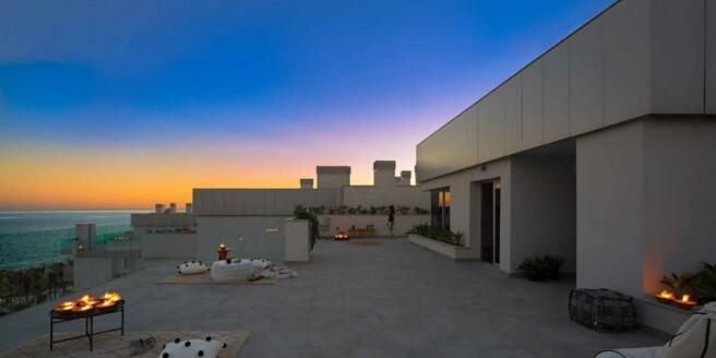 Penthouse evening