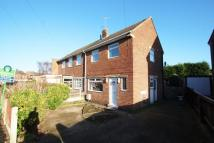 2 bedroom semi detached property for sale in Clive Crescent...