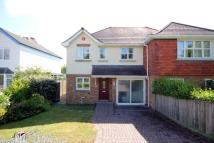 semi detached home in Barton Court Avenue...