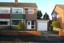 semi detached property in Harwell Drive...