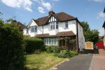 semi detached property in Cuckfield Road...