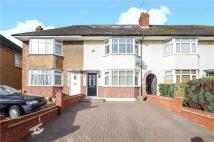 3 bed Terraced house for sale in Royal Crescent, Ruislip...