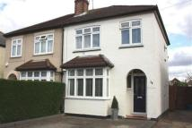 3 bed semi detached property for sale in Avondale Road, ASHFORD...