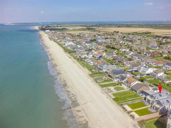 West Wittering Beach Front House For Sale
