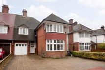 4 bedroom semi detached property to rent in Finchley Road...