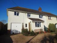 semi detached house for sale in Station Road, Burtle