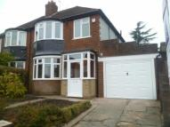 Claremont Road semi detached house to rent