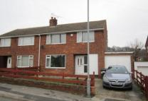 semi detached home in Meadow View, Worsbrough...
