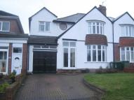 4 bedroom semi detached home in Harborne Road...