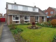 4 bed semi detached home for sale in Hornby Close, Hurworth...