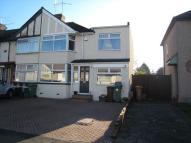 4 bed semi detached property in Parkside Avenue...