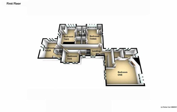 First Floor in 3D