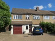 4 bed semi detached home for sale in Andrew Close, Crayford...