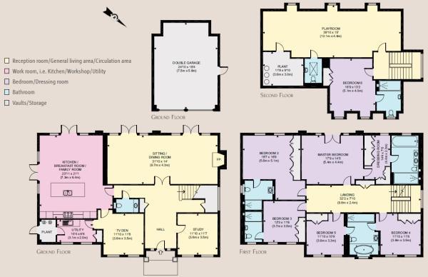 6 bedroom property/f