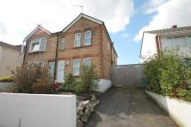 3 bed semi detached property to rent in Victoria Crescent Poole...