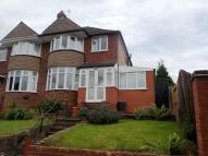 3 bed semi detached property in Edwin Road, Stirchley...