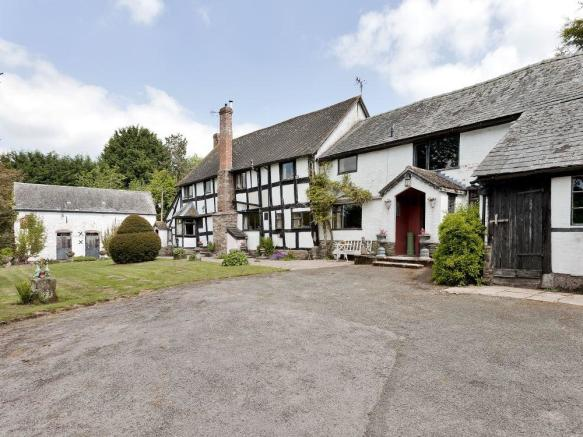 5 Bedroom Detached House For Sale In Broxwood Herefordshire Hr6