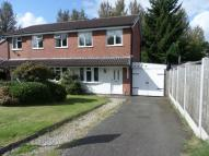 2 bed semi detached house in Clares Lane Close...