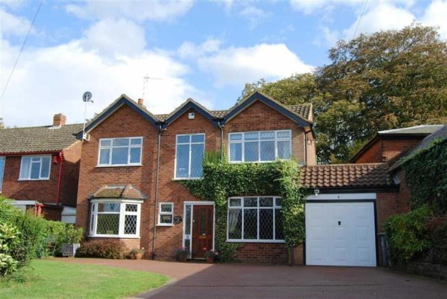 4 Bedroom Detached House For Sale In Knowle Lane Lichfield