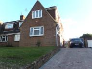 semi detached property in st martins drive...