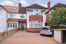 semi detached house in Ravenscroft Avenue...