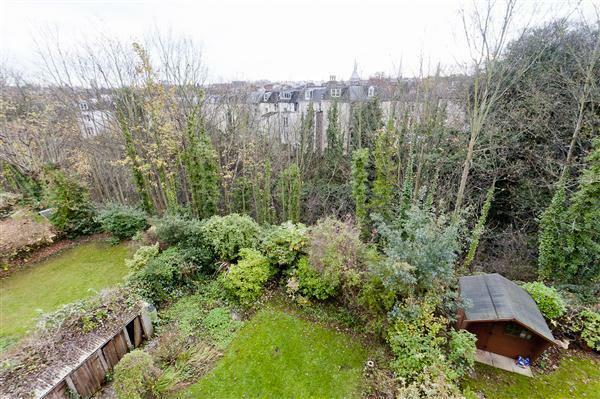Views over garden