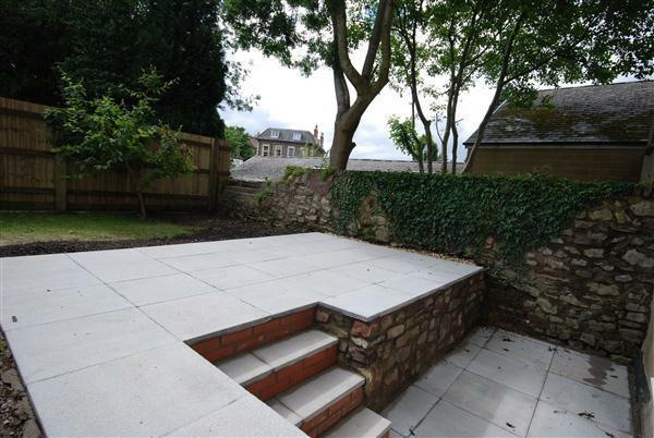 Patio Garden Area